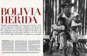 "El País Semanal ""Bolivia Herida"""